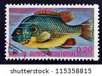 equatorial guinea   circa 1974  ... | Shutterstock . vector #115358815