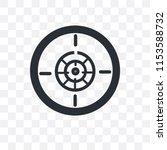 focus button vector icon... | Shutterstock .eps vector #1153588732