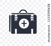 first aid kit vector icon...