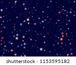 american patriot day stars... | Shutterstock .eps vector #1153595182