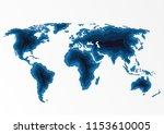 world travel map poster....   Shutterstock .eps vector #1153610005
