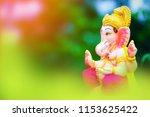 lord ganesha   ganesh festival | Shutterstock . vector #1153625422