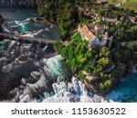 rhine falls  rheinfall ...   Shutterstock . vector #1153630522