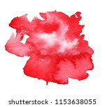 handmade illustration of red... | Shutterstock . vector #1153638055