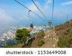 capri  italy   july 29  2018 ... | Shutterstock . vector #1153649008