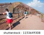 mount vesuvius  italy   august... | Shutterstock . vector #1153649308