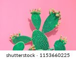 tropical neon green fashionable ... | Shutterstock . vector #1153660225