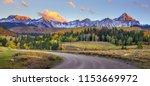 Mountain Range In Colorado....