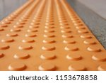 tactile paving  is a system of... | Shutterstock . vector #1153678858