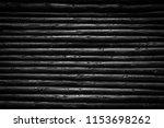 black wood logs background | Shutterstock . vector #1153698262