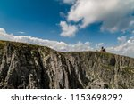 mountains landscape with blue... | Shutterstock . vector #1153698292