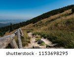 karkonosze mountains. path in... | Shutterstock . vector #1153698295