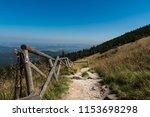 karkonosze mountains. path in... | Shutterstock . vector #1153698298