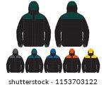 outdoor climbing ski jacket   Shutterstock .eps vector #1153703122