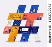 illustrations flat design...   Shutterstock .eps vector #1153710292