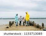 beautiful family portrait... | Shutterstock . vector #1153713085