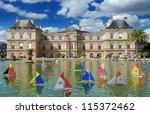 paris   july 30  children's...   Shutterstock . vector #115372462
