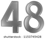 numeral 48  forty eight ... | Shutterstock . vector #1153745428
