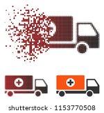 vector drugs shipment icon in...   Shutterstock .eps vector #1153770508