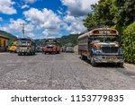 antigua guatemala  guatemala  ... | Shutterstock . vector #1153779835
