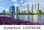 bangkok city   cityscape... | Shutterstock . vector #1153783108