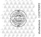 canine grey badge with... | Shutterstock .eps vector #1153793092