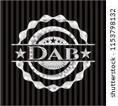 dab silver emblem | Shutterstock .eps vector #1153798132