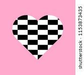 black and white rectangles... | Shutterstock .eps vector #1153873435