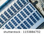 aerial view of factory roof...   Shutterstock . vector #1153886752