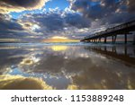 sunrise at  the spit  gold coast | Shutterstock . vector #1153889248