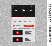 youtube interface mobile. video ...
