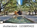 art garden and reflecting pool... | Shutterstock . vector #1153895422