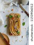 homemade breakfast or tea... | Shutterstock . vector #1153906012