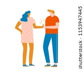 team work concept. two... | Shutterstock .eps vector #1153947445