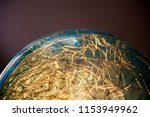 abstract glass bowl background  ... | Shutterstock . vector #1153949962