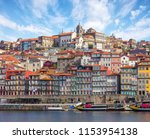 scenic view on the historical... | Shutterstock . vector #1153954138