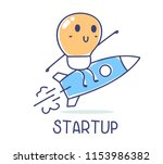 vector business illustration of ... | Shutterstock .eps vector #1153986382