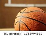 isolated basket ball closeup... | Shutterstock . vector #1153994992