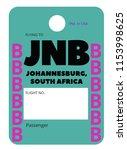 johannesburg south africa... | Shutterstock .eps vector #1153998625