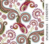 seamless pattern  with  maroon  ... | Shutterstock .eps vector #1154005945