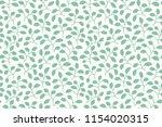 beautiful leaf pattern.... | Shutterstock .eps vector #1154020315