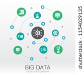 big data creative system... | Shutterstock . vector #1154029135