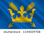 flag of suffolk is an east... | Shutterstock . vector #1154029708