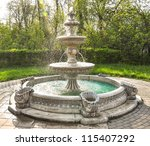 Fountain Multi Tiered  In The...