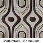 seamless relief sculpture...   Shutterstock .eps vector #1154088805