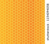 bee honeycomb texture  vector... | Shutterstock .eps vector #1154094058