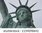 statue of liberty in the evening | Shutterstock . vector #1154098642