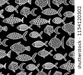 seamless vector pattern with... | Shutterstock .eps vector #1154120302