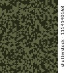 camouflage pattern background... | Shutterstock .eps vector #1154140168