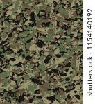 camouflage pattern background... | Shutterstock .eps vector #1154140192